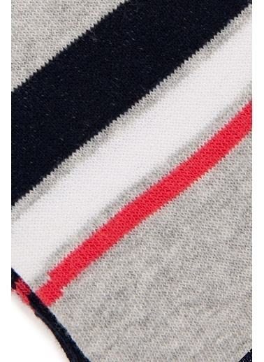 U.S. Polo Assn. 3'lü Çorap Beyaz